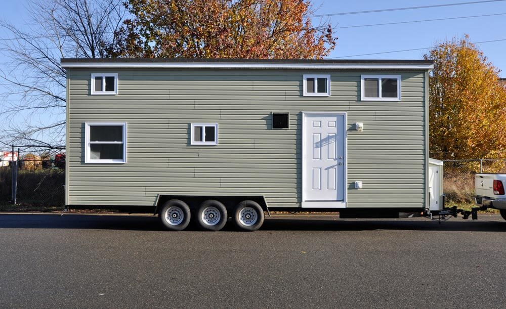 Jefferson by tiny house building company tiny houses on for Small home builders near me