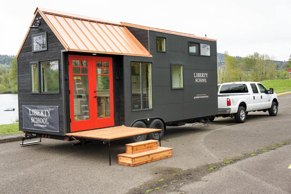 Kootenay Wine Tasting Room By Truform Tiny Tiny Houses