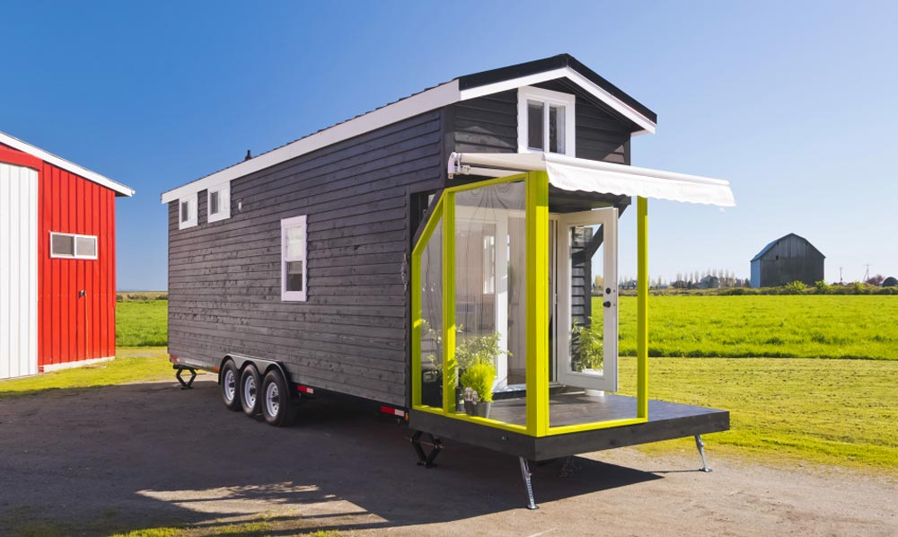 Custom tiny by mint tiny homes tiny houses on wheels for for Small house builders near me