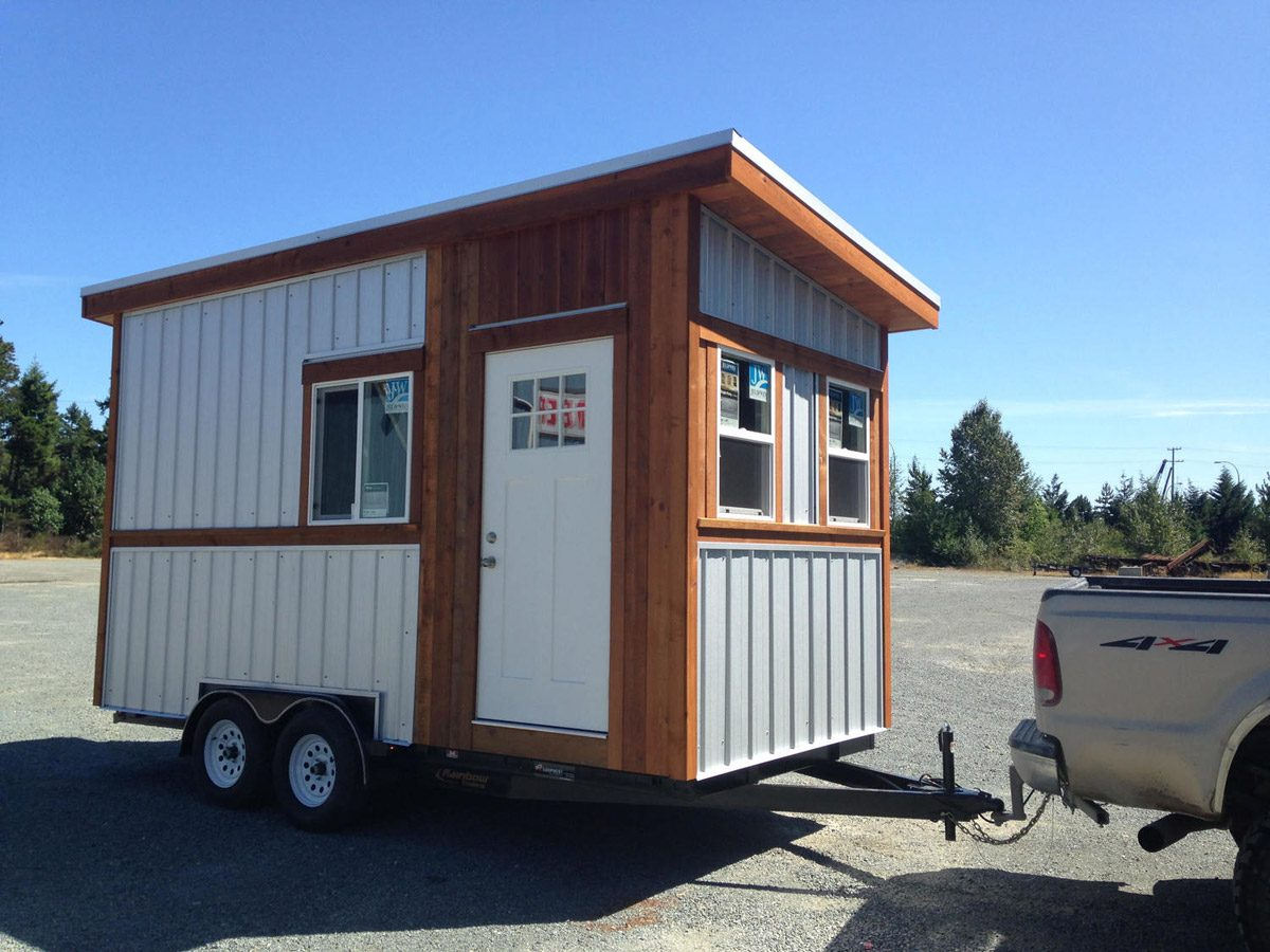 Stormey by rewild homes tiny houses on wheels for sale for Small home builders near me