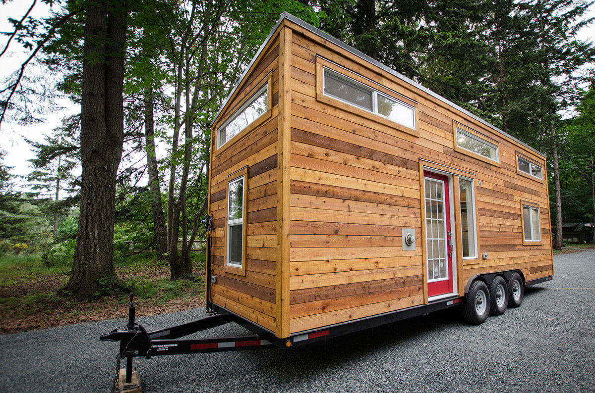 Whisky jack by rewild homes tiny houses on wheels for for Small house builders near me
