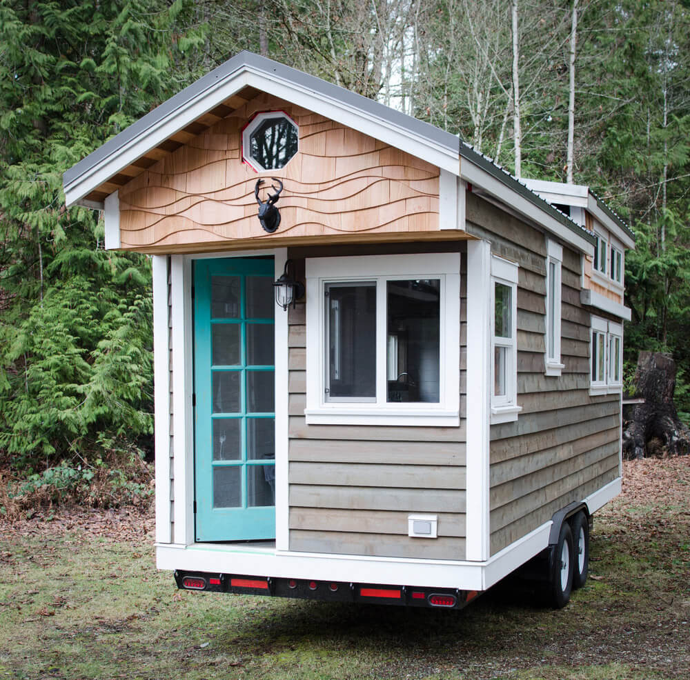 rewild tiny house by rewild homes tiny houses on wheels for sale listings. Black Bedroom Furniture Sets. Home Design Ideas
