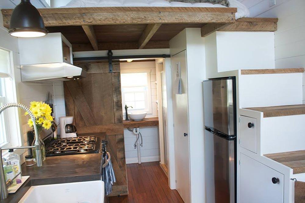 Custom Wheels Near Me >> Modern Farmhouse by Liberation Tiny Homes - Tiny Houses On Wheels For Sale Listings