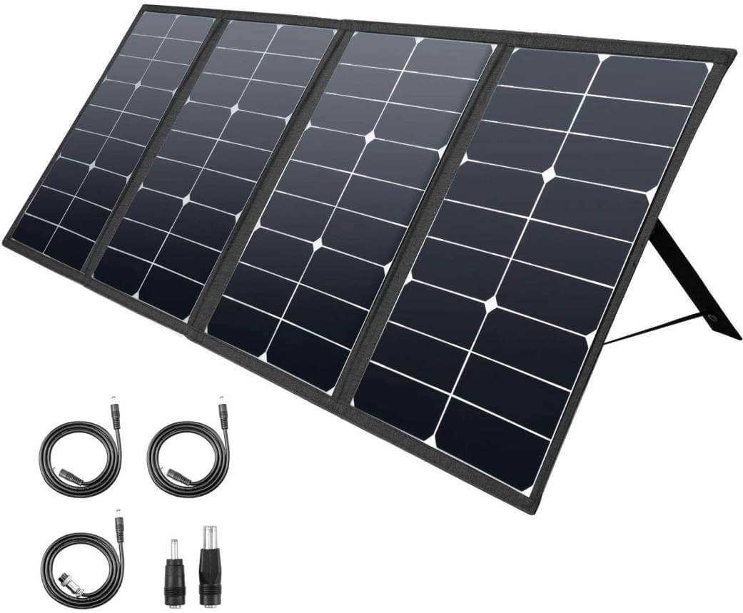 ROCKPALS 80W Portable Solar Panel Chargers