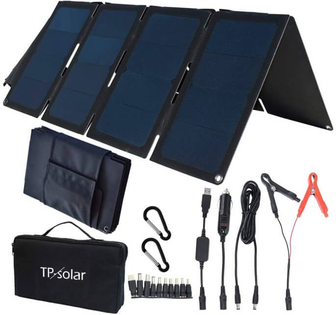 TP-solar 60W Portable Foldable Solar Panel Charger Kit